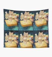 bred & booze cat Wall Tapestry