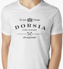 Dorsia Fine Dining Men's V-Neck T-Shirt