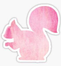 Pink Squirrel Sticker