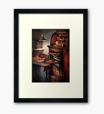 Dentist - Lab - Dental Workstation Framed Print