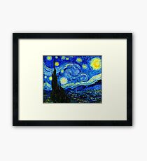 Starry Night by Van Gogh Framed Print