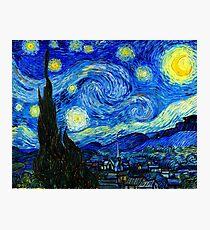Starry Night by Van Gogh Photographic Print