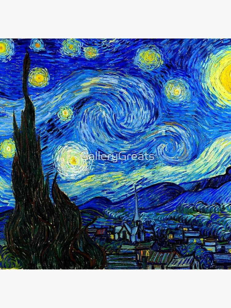 Starry Night by Van Gogh by GalleryGreats