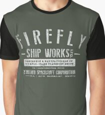 Firefly Ship Works Graphic T-Shirt