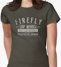 Firefly Ship Works Women's Fitted T-Shirt