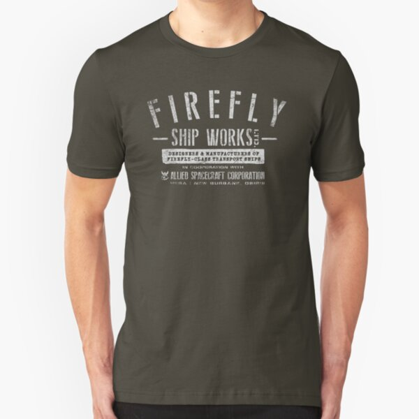 Firefly Ship Works Slim Fit T-Shirt