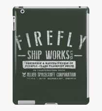 Firefly Ship Works iPad Case/Skin