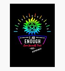 Always Keep Fighting - I Am Enough Photographic Print