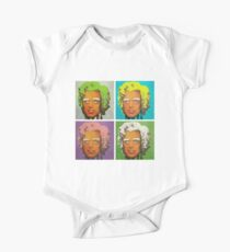 Oompa Loompa set of 4 One Piece - Short Sleeve