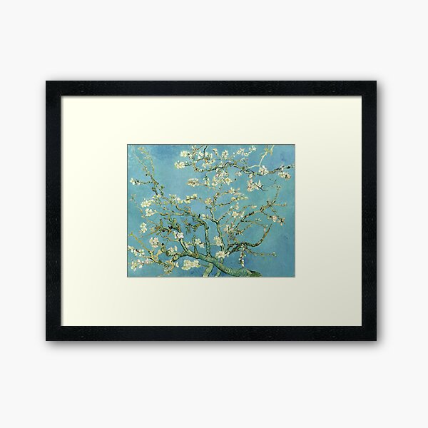 Almond Blossom by Van Gogh Framed Art Print