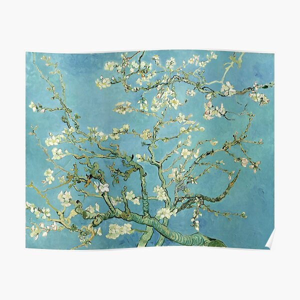 Almond Blossom by Van Gogh Poster