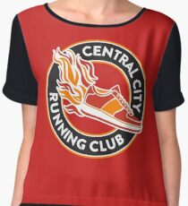 Central City Running Club Chiffon Top