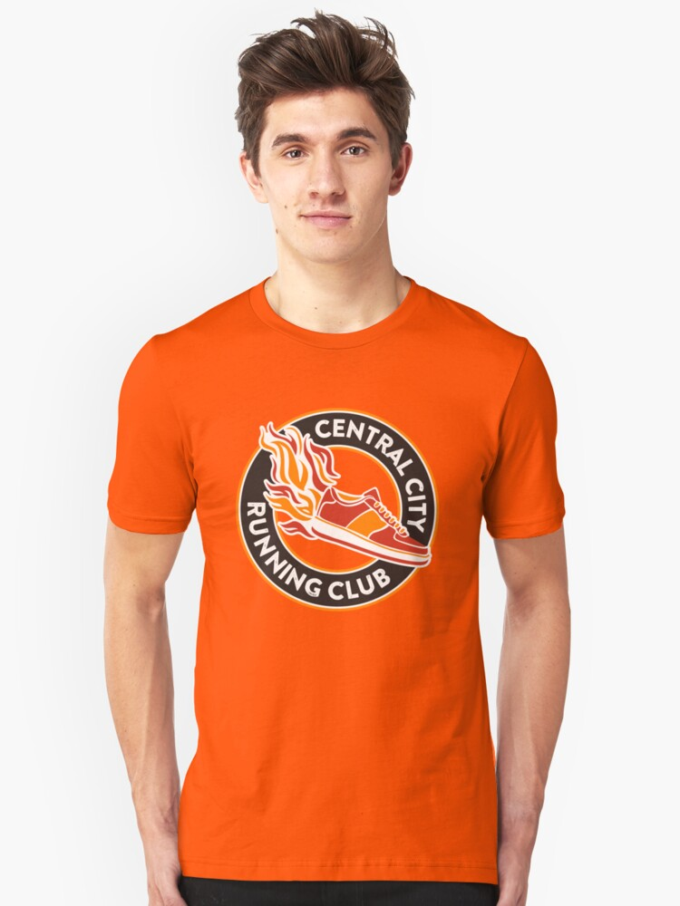 Central City Running Club Unisex T-Shirt Front