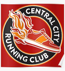 Central City Running Club Poster