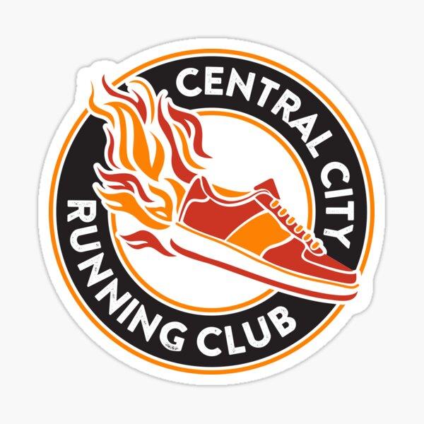 Central City Running Club Sticker