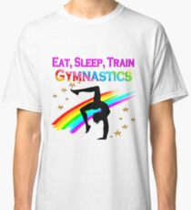 EAT SLEEP TRAIN GYMNASTICS Classic T-Shirt