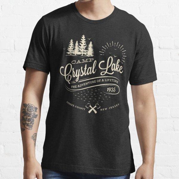 Campamento Crystal Lake Camiseta esencial