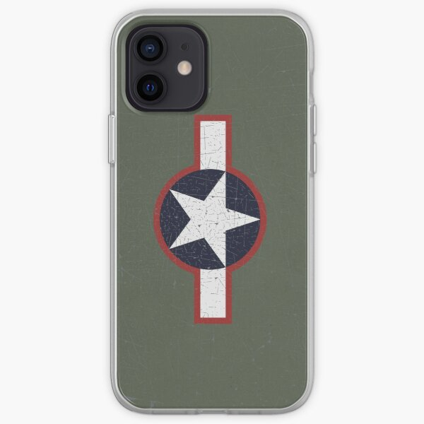 Vintage Look US Forces Roundel 1943 iPhone Soft Case