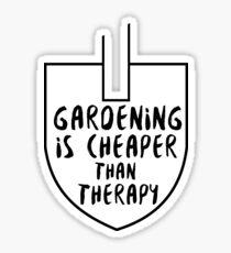 Gardening Sticker