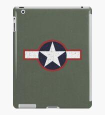Vintage Look US Forces Roundel 1943 iPad Case/Skin