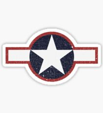 Vintage Look US Forces Roundel 1943 Sticker