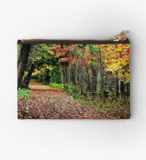 A Leaf Littered Trail Studio Pouch