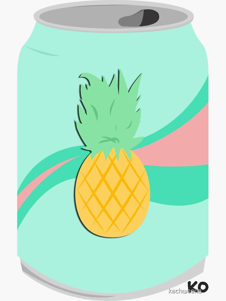pineapple soda by kachweena