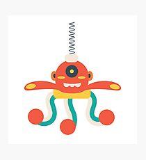 MY ROBOT FRIEND - 3 Photographic Print