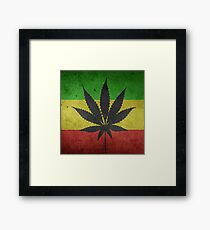 Hanf Drugs Marijuhana Framed Print