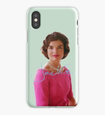 Jackie Kennedy iPhone Case/Skin