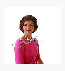 Jackie Kennedy Photographic Print