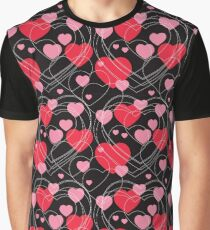 Hearts, hearts and more hearts Graphic T-Shirt