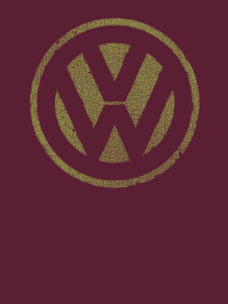 Vintage Look Volkswagen Logo Design | Unisex T-Shirt