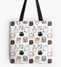 Blob Cats in Color! Tote Bag