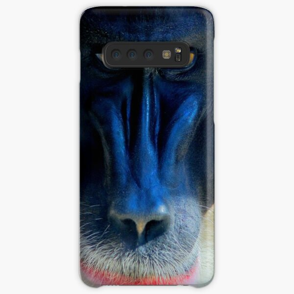 monkey looking right Samsung Galaxy Snap Case