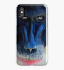 monkey looking right iPhone Case