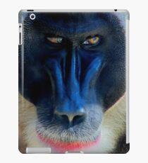 monkey looking right iPad Case/Skin