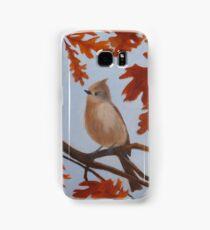 Autumn Titmouse Samsung Galaxy Case/Skin