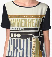 Hammerhead Corvette Chiffon Top