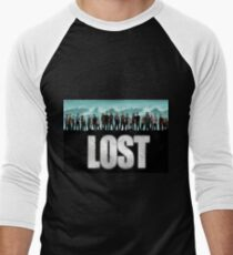 lost cast Men's Baseball ¾ T-Shirt
