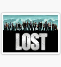 lost cast Sticker