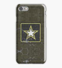 Vintage Look US Army Star Logo  iPhone Case/Skin