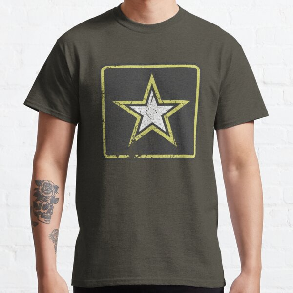 Vintage Look US Army Star Logo  Classic T-Shirt