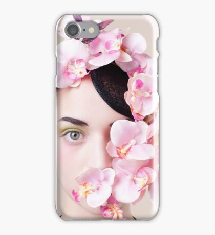 Orchid Mask iPhone Case/Skin