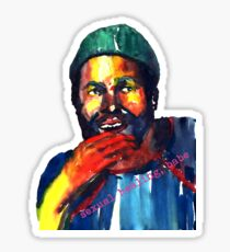 Marvin Gaye Sticker