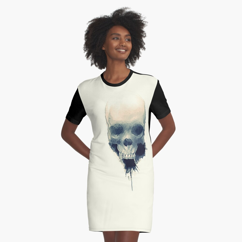 It Was You Who Brought Me Here  Graphic T-Shirt Dress Front