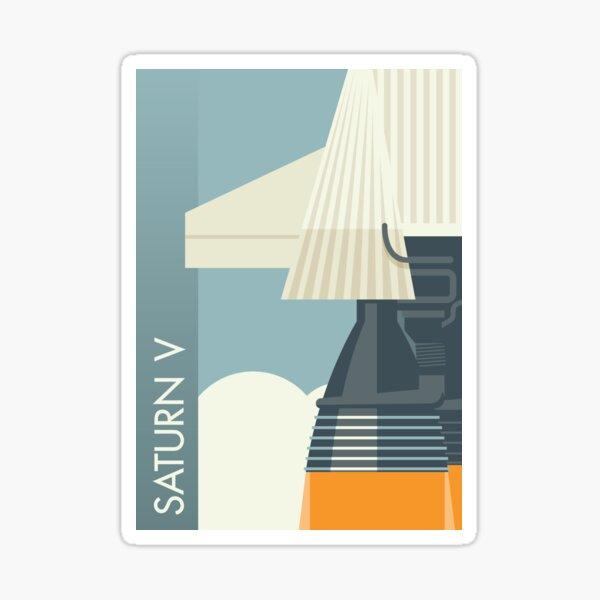 Saturn V Sticker