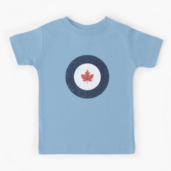 Vintage Look WW2 Royal Canadian Air Force Roundel Kids T-Shirt