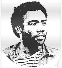 Gambino- Donald Glover Poster