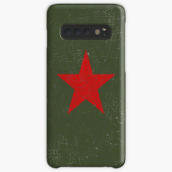 Vintage Look Russian Red Star Samsung Galaxy Snap Case